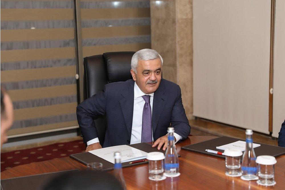 Image result for Rövnəq Abdullayev İlham Əliyev
