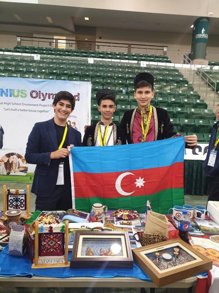 Azərbaycanlı şagirdlər ABŞ-da birinci oldu