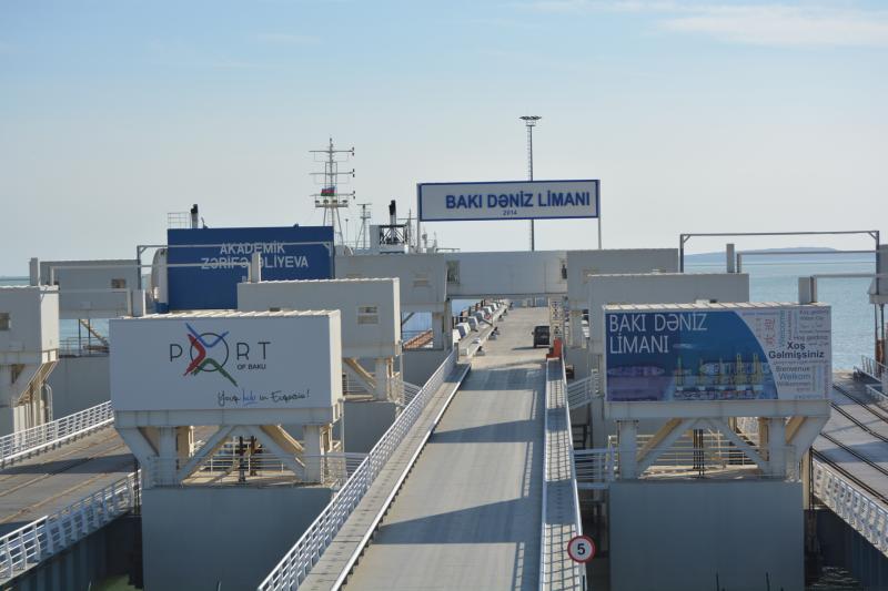 Бакинский порт объявлен первым «зеленым портом» Каспийского региона