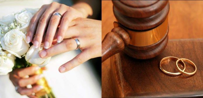 B Азербайджане зарегистрировано 11317 разводов