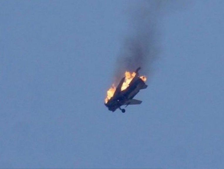 Düşmənin növbəti Su-25 təyyarəsi vuruldu.